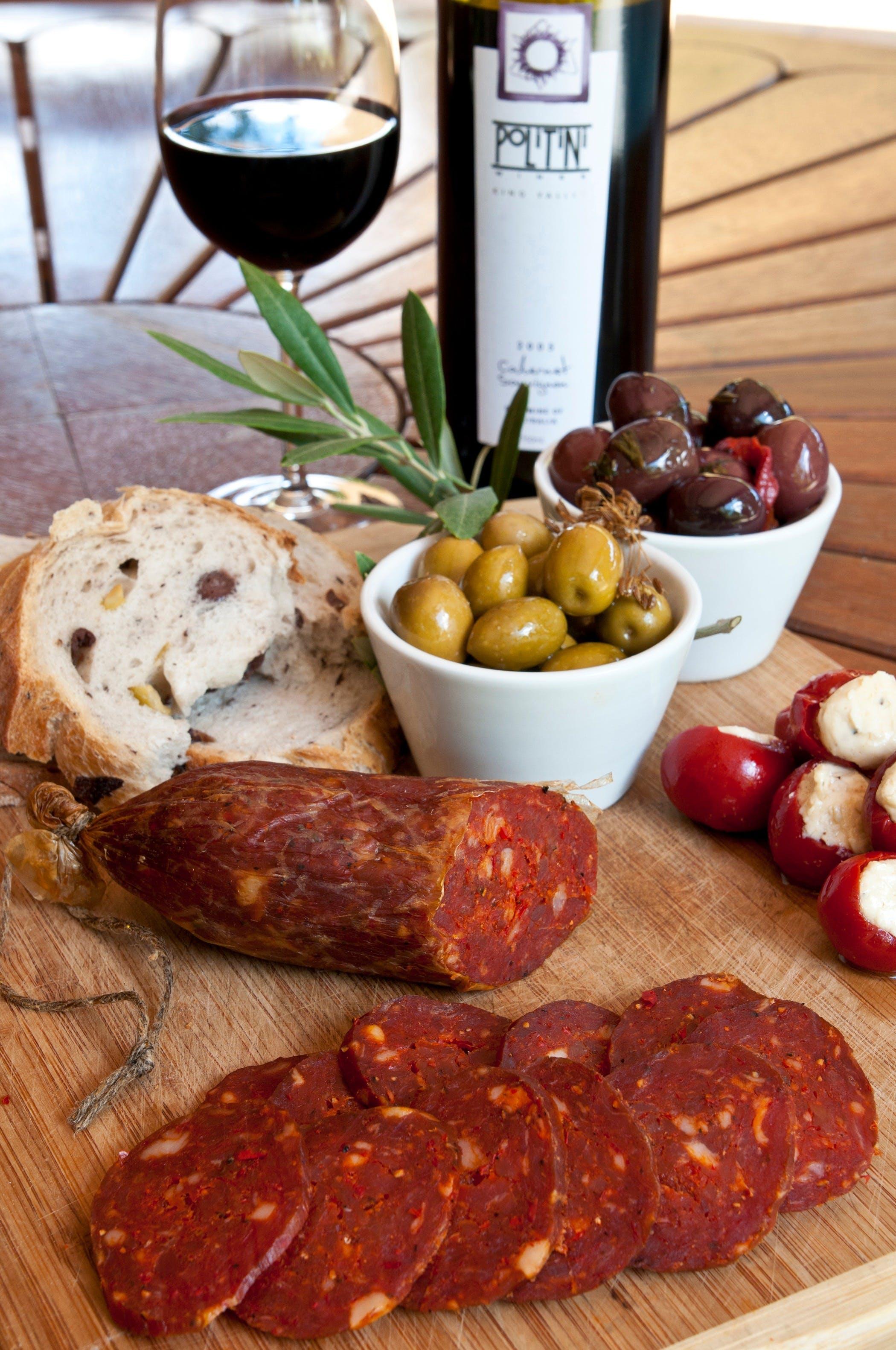 Salami and Salsicce Making classes at Politini Wines - Accommodation BNB