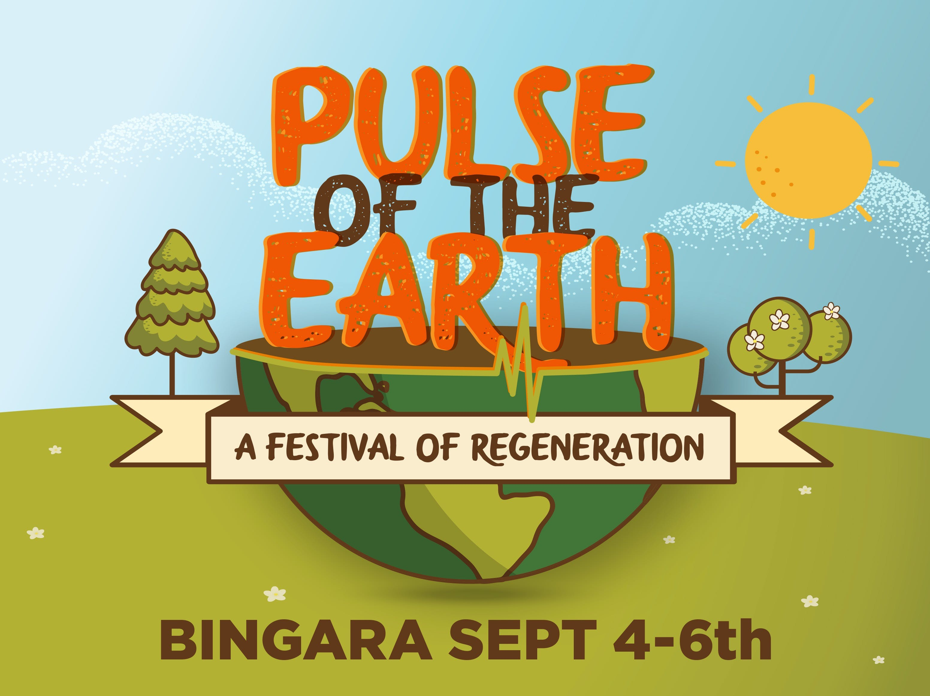 Pulse of the Earth Festival - a festival of Regeneration - Accommodation BNB