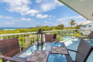 Home Away from Home with Sweeping Ocean Views - Unit 12 60 Peregian Esplanade - Accommodation BNB